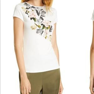 Ted Baker   Torina Opal Floral Graphic Tee